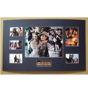 Orlando Bloom Signed & Mounted Photo Set - Pirates Of The Caribbean